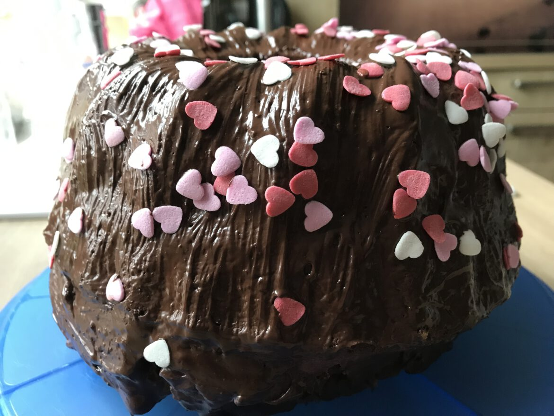 Wieso wird der Kuchen im Ofen größer?